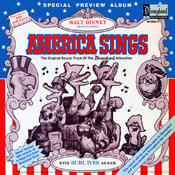 WOND-3 Walt Disney Productions' America Sings (Special Preview Album)